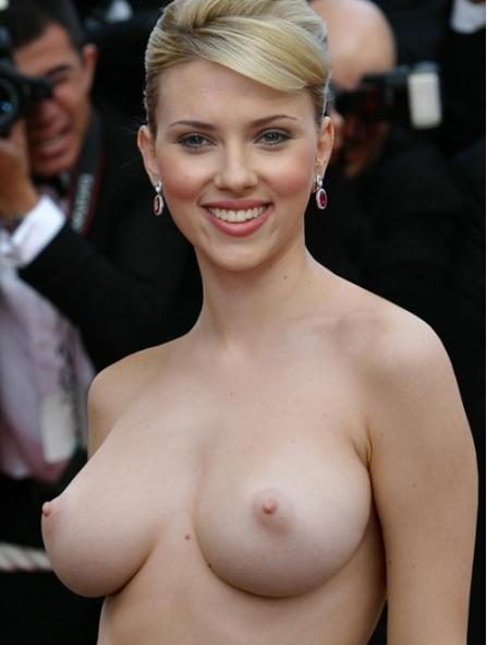 Naked Scarlett Johansson Nude