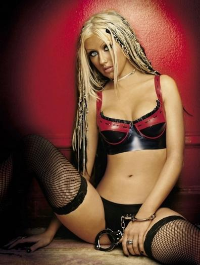 Brand new pic of Christina Aguilera perky nipples. She revealed them only once before in her video clip and even then they were covered with her long hairs. This time there is nothing to distract your attention from her sweet little pokies looking directly in front and demanding careful touch…Found this post right here, to see more pics just click the link below.