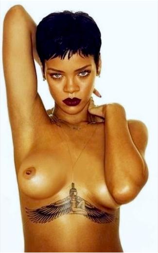 Rihanna фото голая